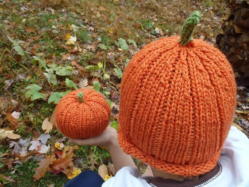 Little pumpkin hat