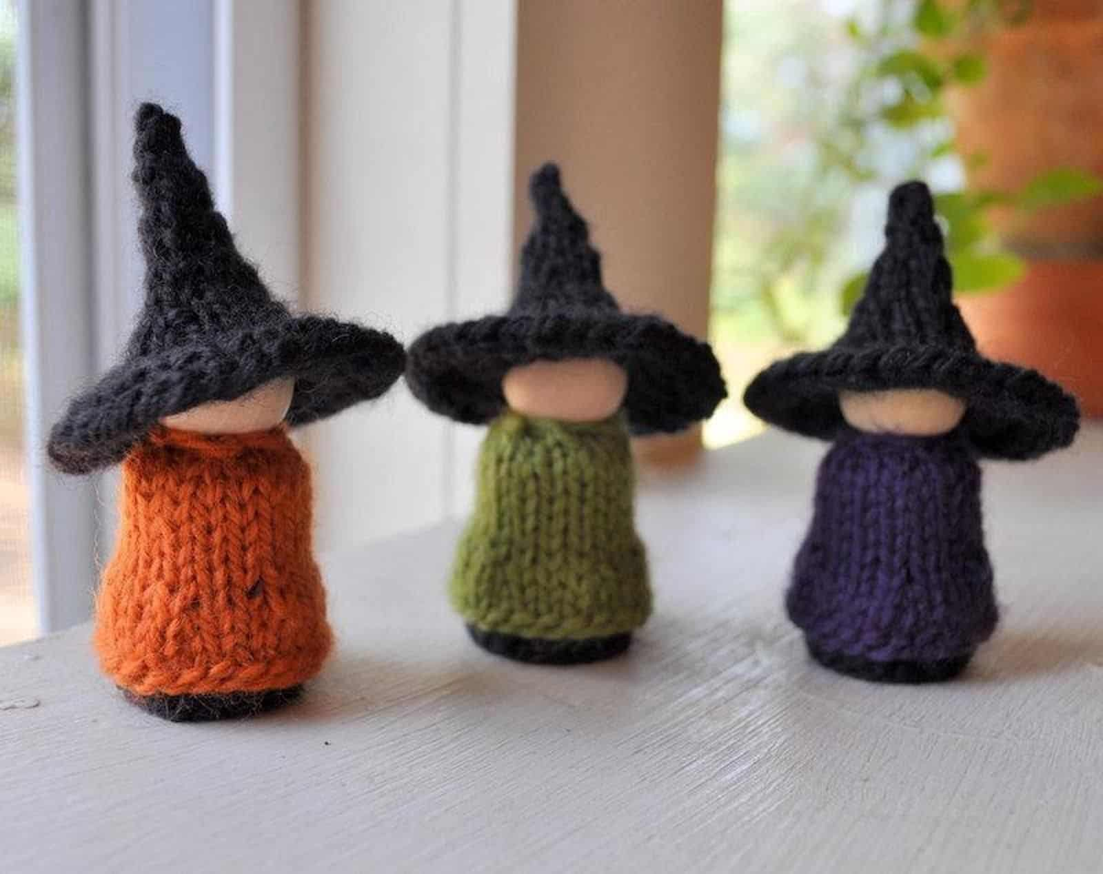 Little standing witches
