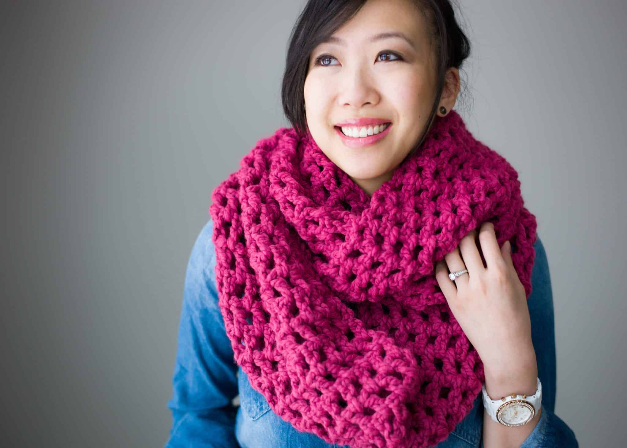Staying Warm 14 Crocheted Scarf And Cowl Patterns For Fall