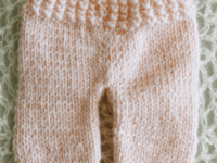 Newborn knit pants 200x150 For Winter and Beyond: Warm Knitted Leggings Patterns
