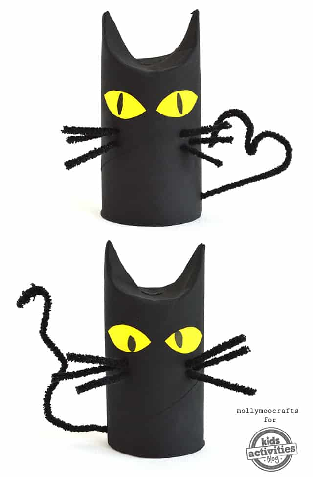Pipe cleaner and toilet toll black cat