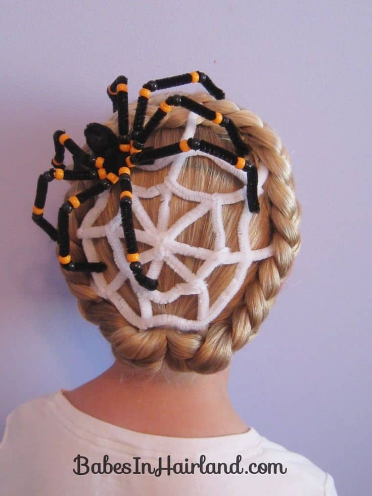 Get Party Ready Cool Hairstyles For Halloween
