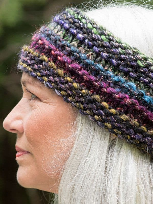 Homemade Coziness: Smart Knitted Ear Warmer and Headband ...