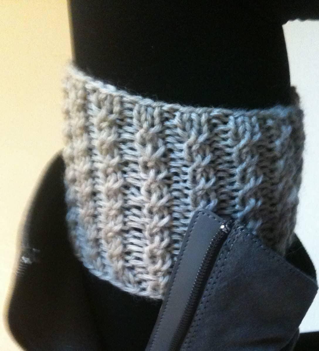 Rebekahs boot cuffs 15 DIY Knitted Boot Cuffs for Fall
