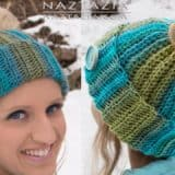 Homemade Headgear: Crocheted Messy Bun Hat Patterns