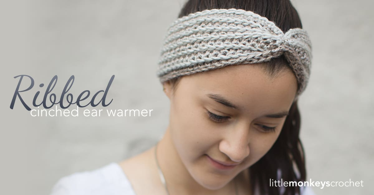 Cozy And Stylish 15 Crocheted Ear Warmer And Headband Patterns