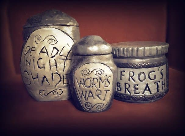 Sally's apothecary jars