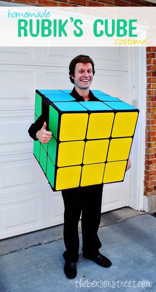 Sdult Rubics cube costume