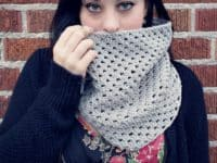 Shell stitch cowl 200x150 Staying Warm: 14 Crocheted Scarf and Cowl Patterns for Fall