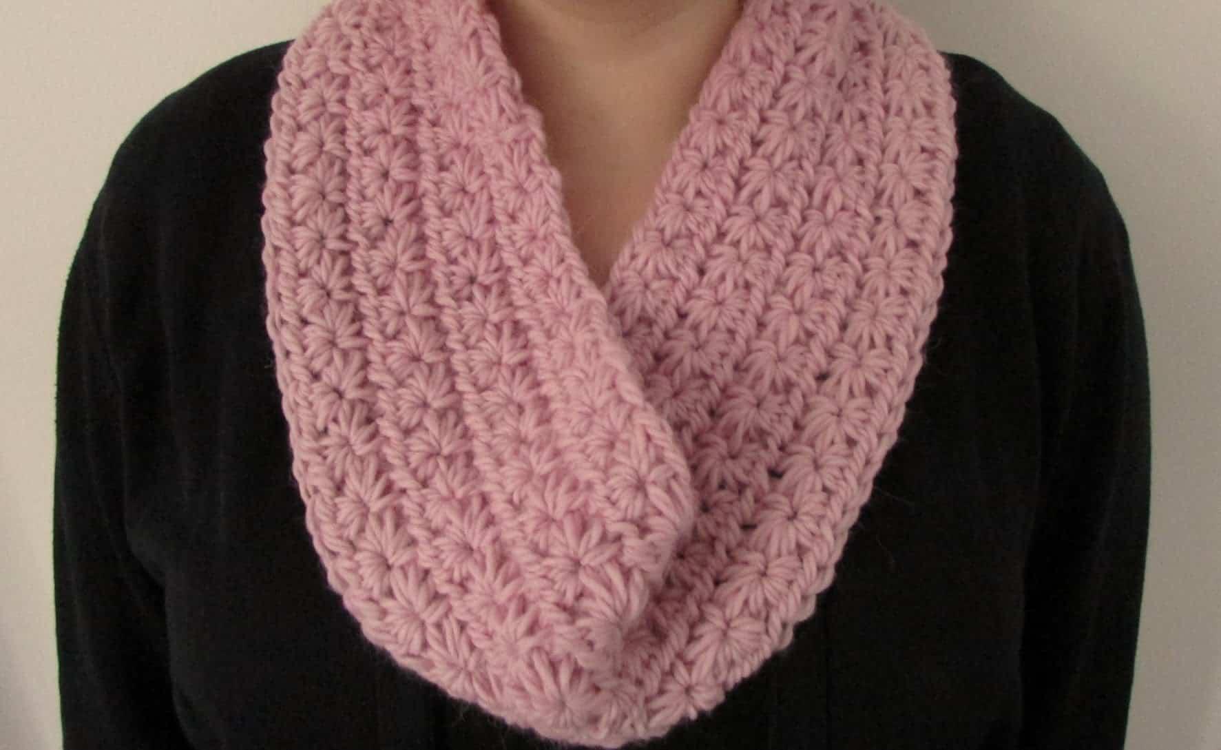 Star Stitch infinity scarf