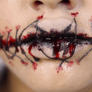 Getting Ready: Cool Halloween Lip Art to Inspire You!