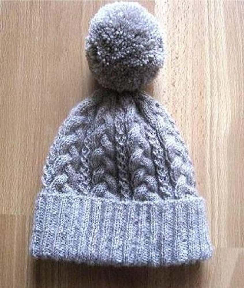 Super Cozy cabled beanie