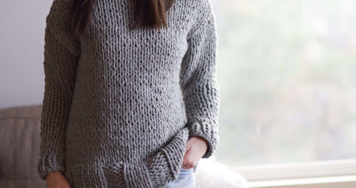 Winters Chunky easy knit pullover