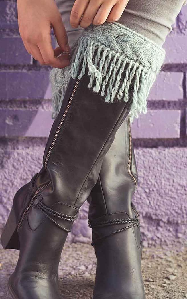 Wynkoop boot cuffs