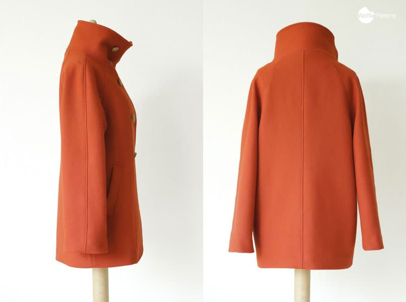 Yuzu raglan coat