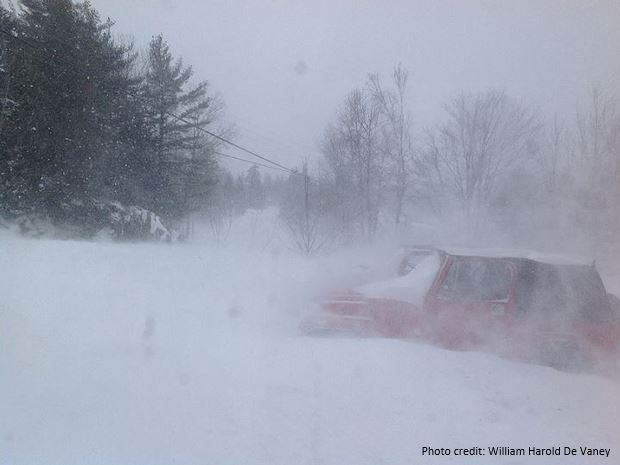 Check conditions and forecasts before you drive