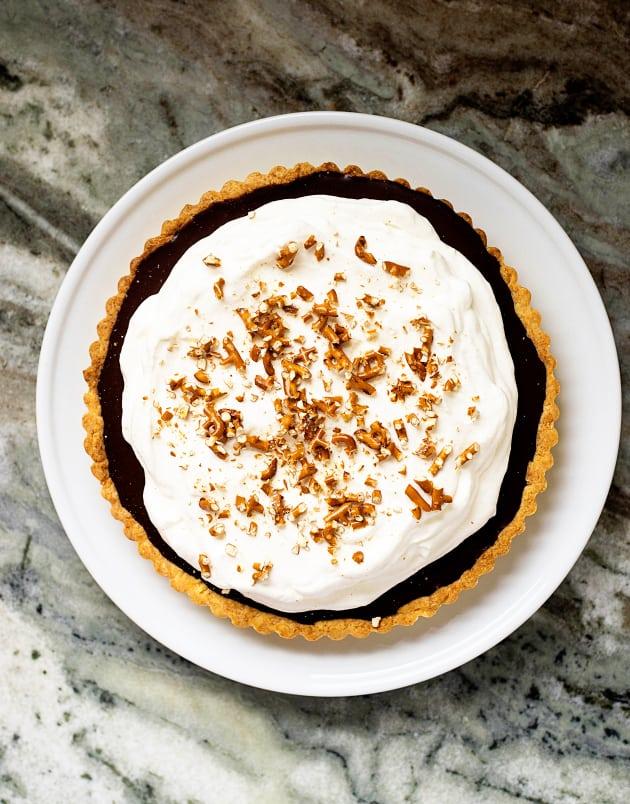 Chocolate stout tart