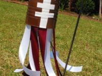 Coffee can football wind sock 200x150 Tiny Bits of Inspirations: 15 Awesome Kids Crafts Inspired by Sports
