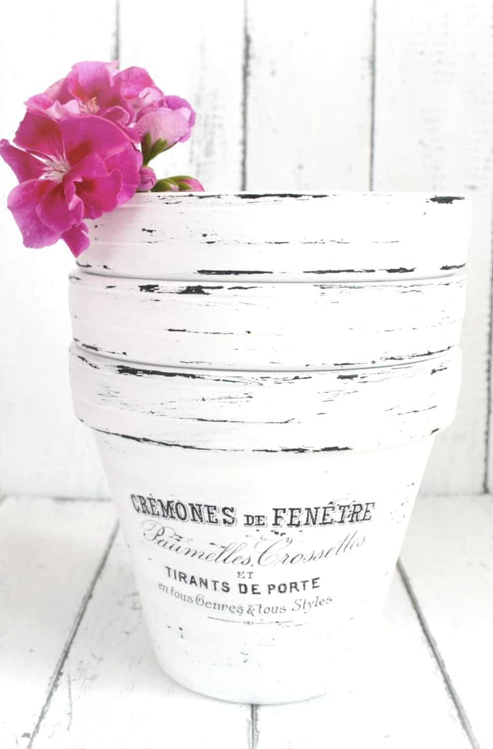 French ink transfer pots