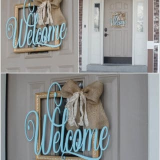 15 Creative DIY Welcome Sign Projects