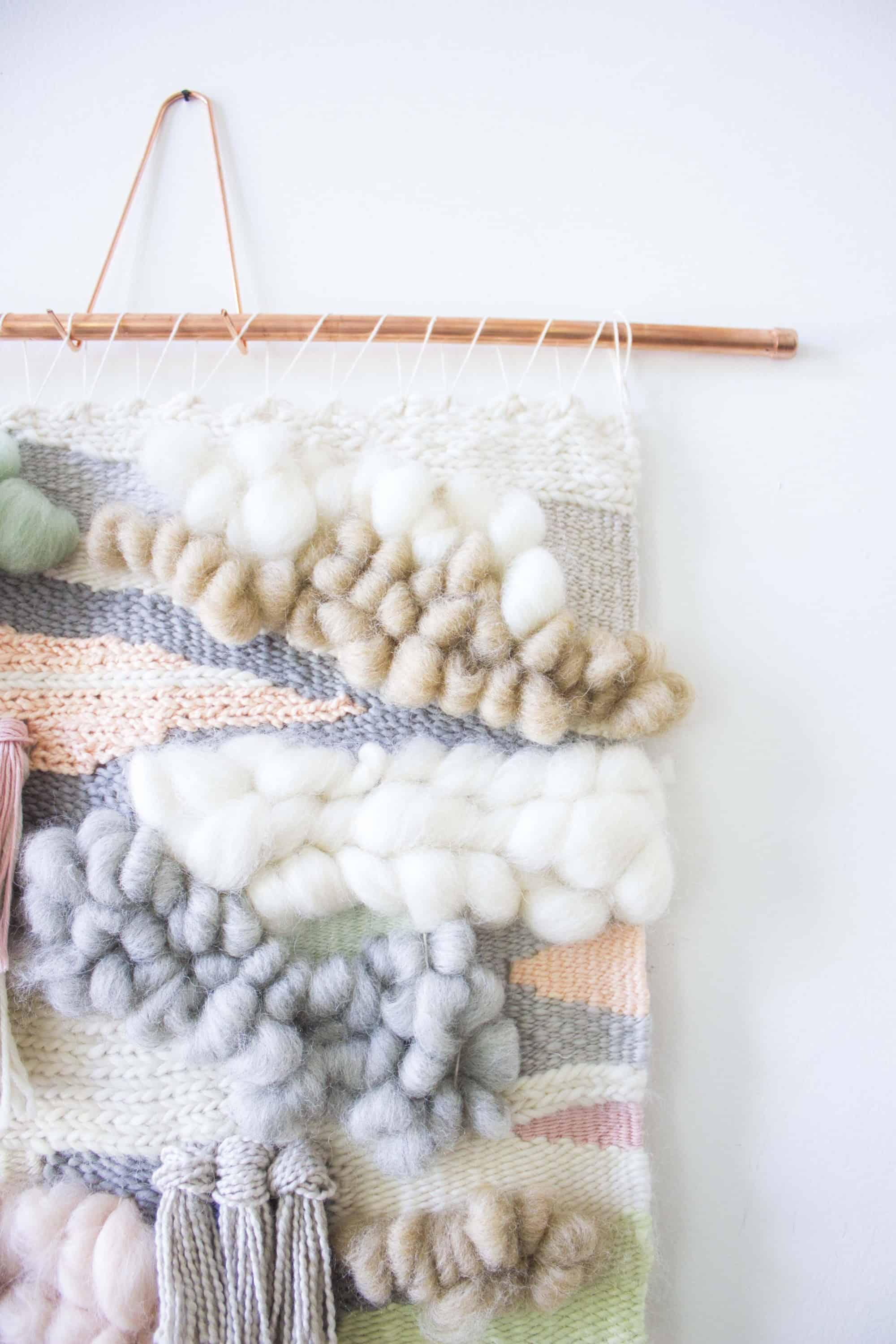 Inset roving pulls in weaving