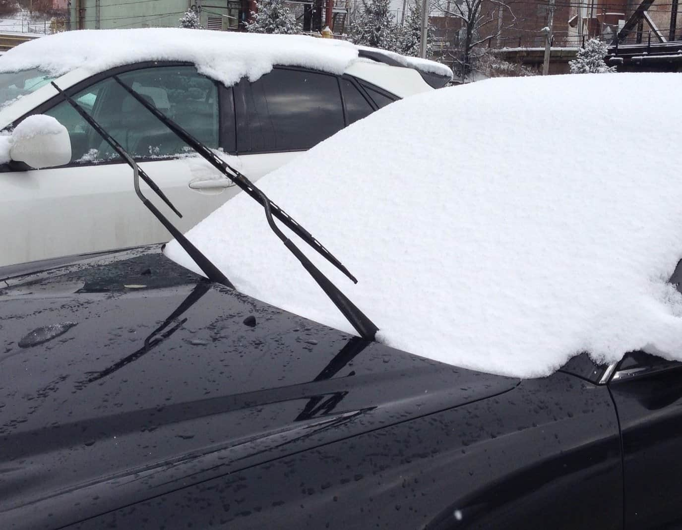 Keep an eye on your windsheild wipers and fluid all winter
