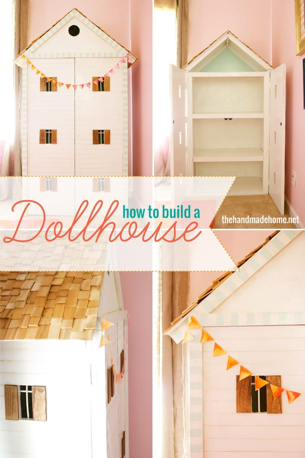 Lovely hinged dollhouse