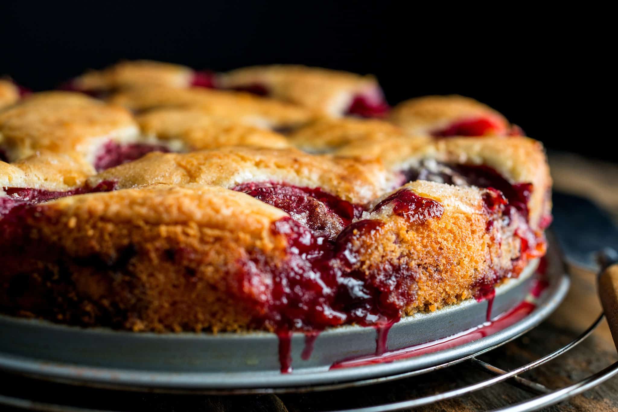 Original plum torte Mouth Watering Treats: 15 Delicious Recipes Made with Plums