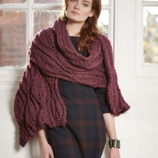 Super Warm, Oversized Knitted Wraps