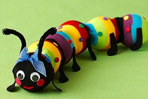 Sock caterpillar