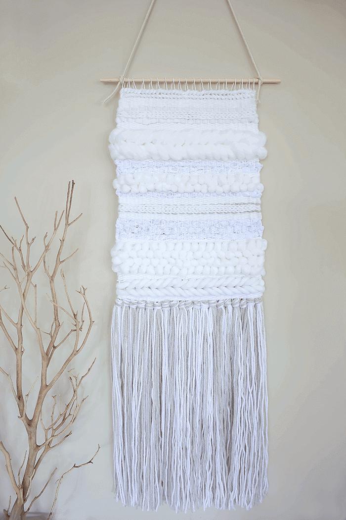 Texture practice weaving