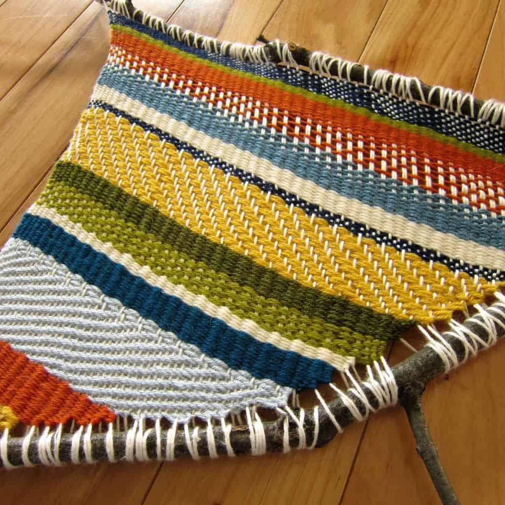 Traditional branch weaving
