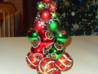 Christmas ornament tree 200x150 Finding Your Style: Awesome DIY Christmas Tree Alternatives