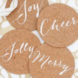 No More Water Rings: Homemade Coasters for Party Season and Beyond