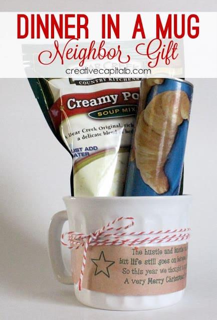 Dinner in a mug