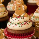 Absolutely Awesome: 15 Holiday Themed Cupcakes to Make on The Christmas Break