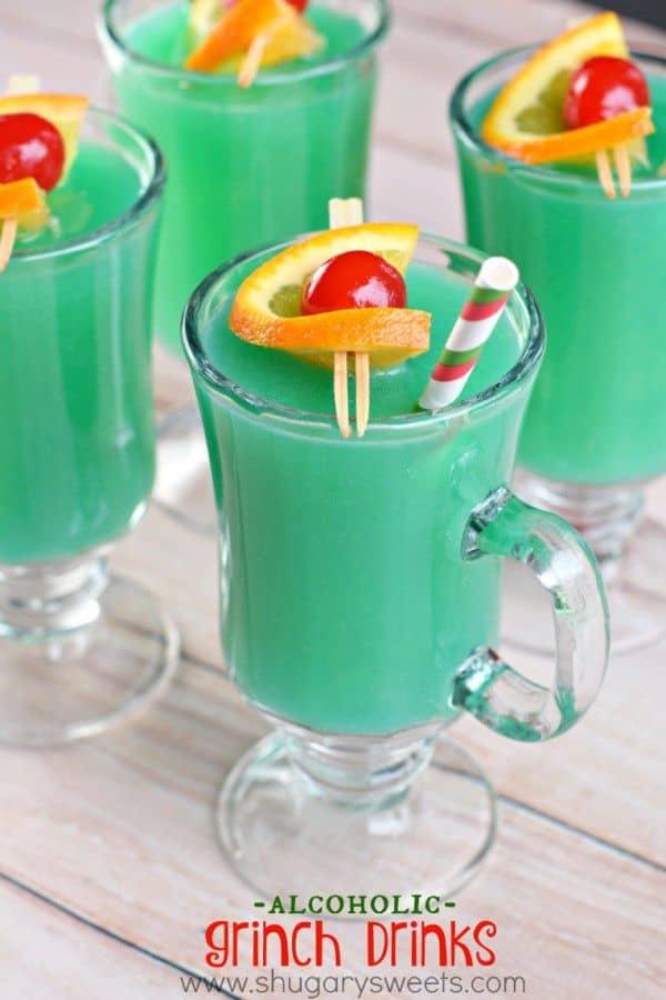 Grinch drink