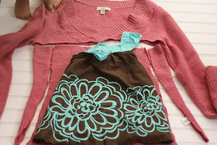 Kids' sweater dress