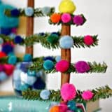 Colorful Bliss: Christmas Craft Ideas Made With Pom Poms