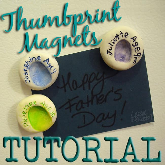 Thumbprint magnets