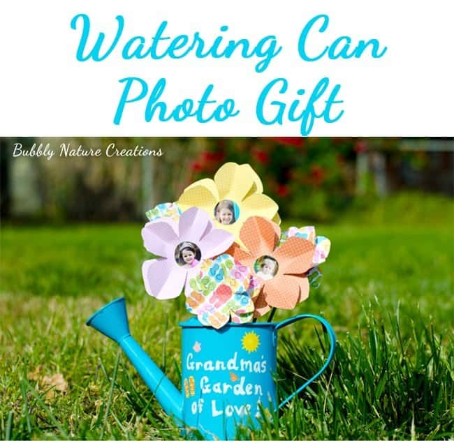 Watering can photo display
