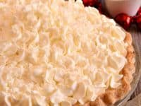 White Christmas pie 200x150 Festive Feast Ideas: 15 Best Homemade Christmas Pie Recipes