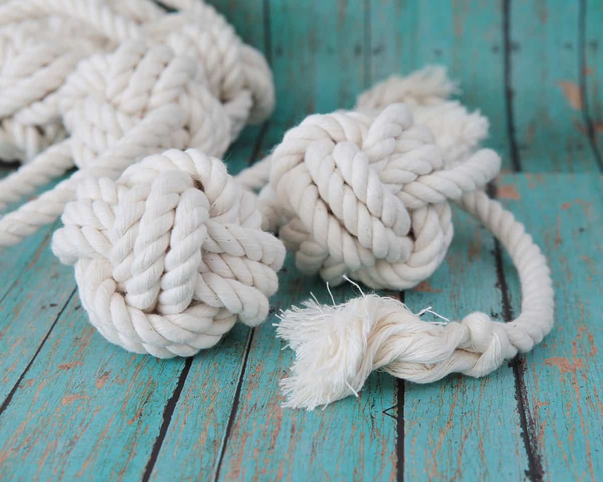4 knot rope ball