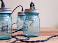 Canning jar lights 200x150 A Season of Ingenious Illumination: Creative DIY Lighting