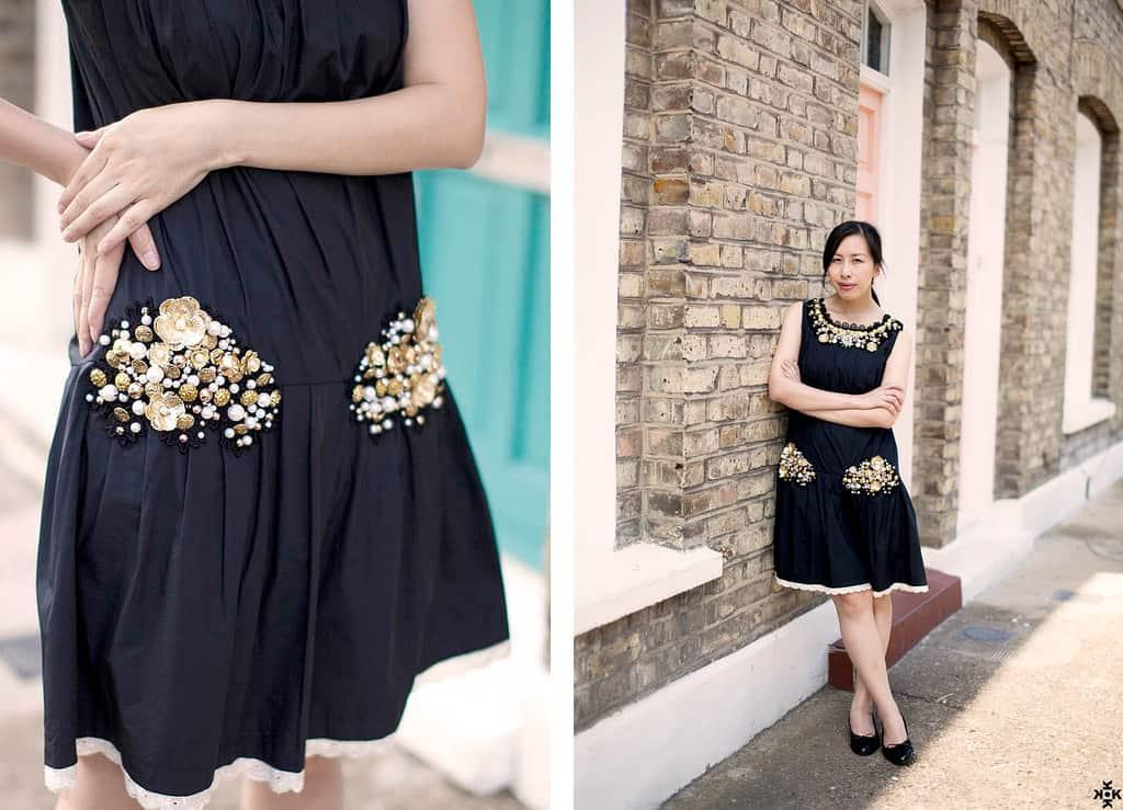 DIY Baroque inspired dress