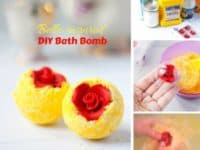 DIY Belle inspired bath bombs 200x150 Rejuvenate Your Senses with these Spa Inspired DIY Bath Bombs