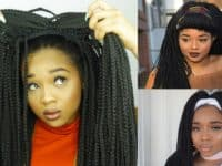 Easy box braid wig 200x150 Its a Hair Thing: Smart Wig Styling Tutorials to Make Your Life Easier!