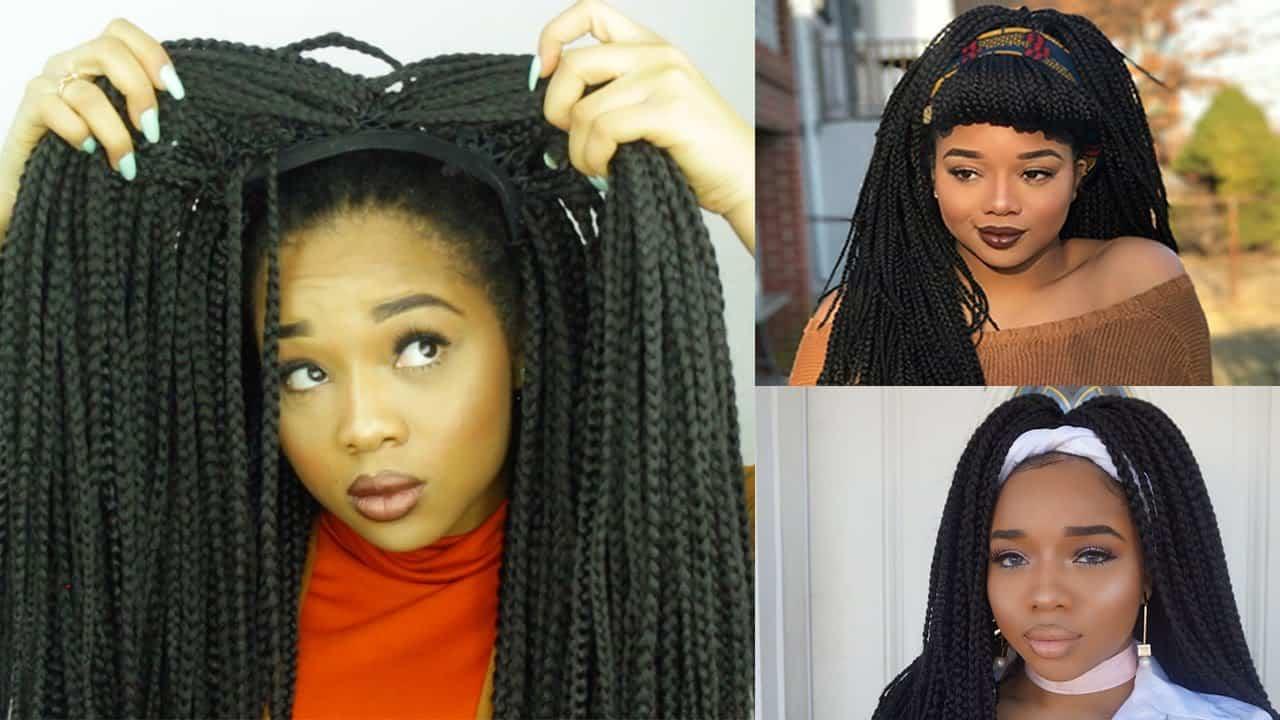 Easy box braid wig