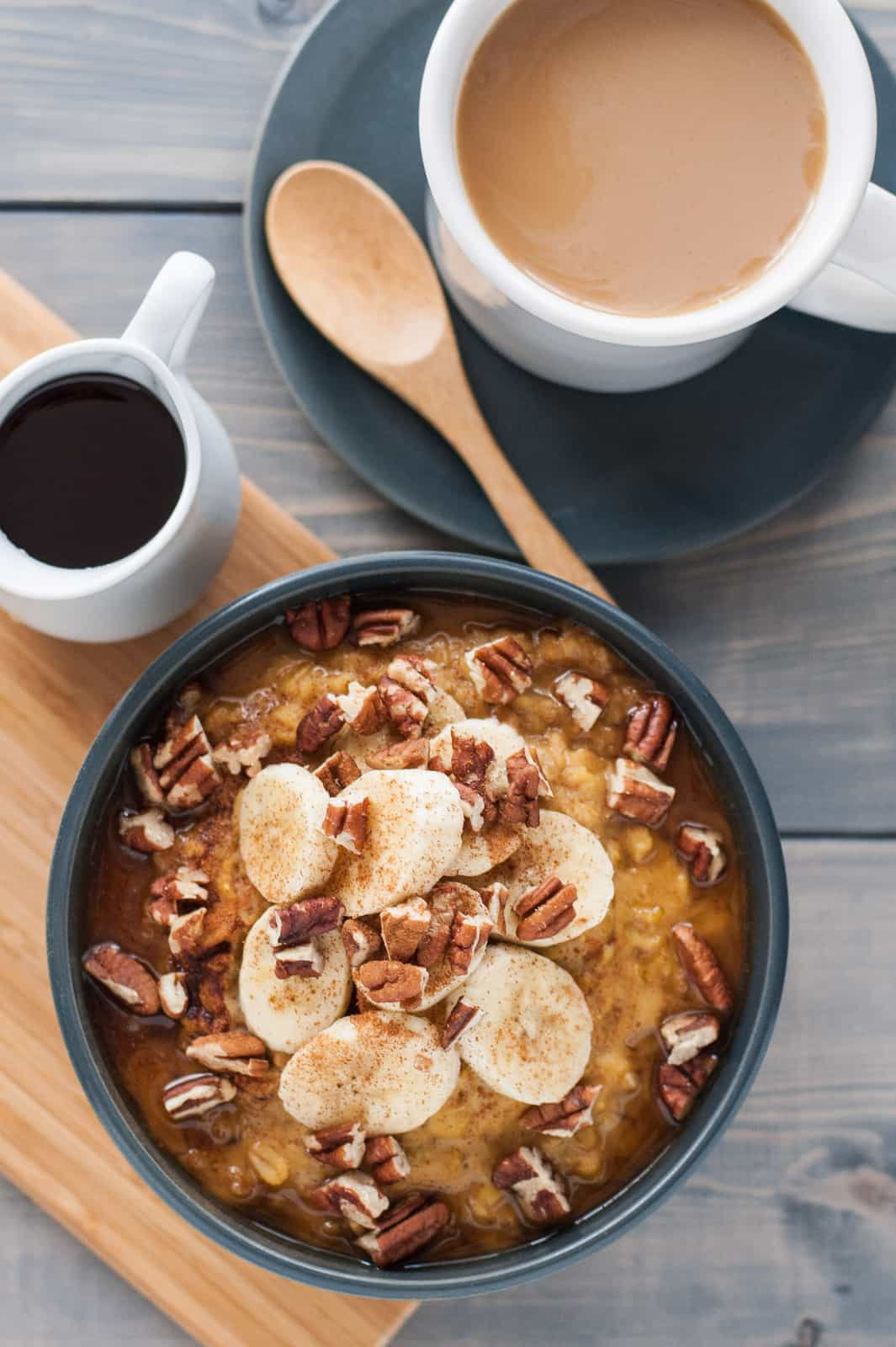 Easy maple pumpkin oatmeal