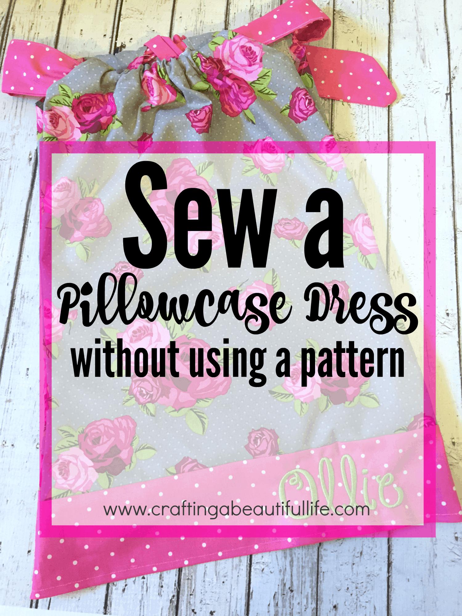 Kids' pillowcase dress
